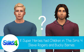 if super heroes had children in the sims 4 steve rogers and bucky