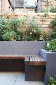 Planter Bench Seat Best 25 Planter Bench Ideas On Pinterest Back Garden Ideas