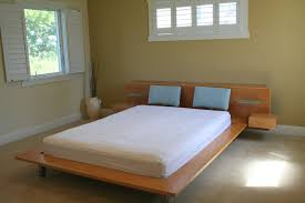 solid wood twin platform beds home decorations insight