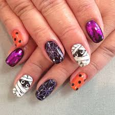 top 15 halloween mummy nail designs u2013 new simple home manicure