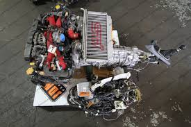 awd subaru wrx ej20 single turbo engine u0026 manual 6 speed awd transmission subaru