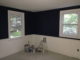 paint color to match pb harper bedding in navy november 2015