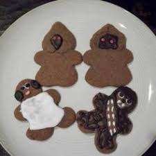 star wars gingerbread men nerdy nummies pinterest