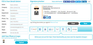 free email signature generators to create professional email signature