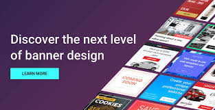 banner design generator save more time with the banner generator bannersnack