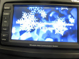 some fun with the mmcs display evoxforums com mitsubishi