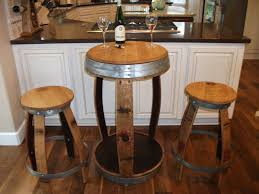 Barrel Bistro Table Wine Barrel Bistro Table And Stools By Thisoldbarrelcom