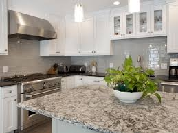 quartz kitchen countertop ideas grey quartz kitchen countertop with ceramic tile backsplash 8895
