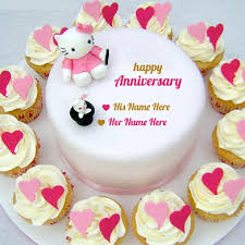 wedding wishes on cake happy anniversary images hd free for whatsapp