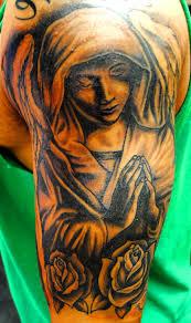 warrior angel tattoos men cool tattoos bonbaden