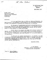 Legal Cease And Desist Letter by 1953 Cease And Desist Letter By Hubbard Why We Protest