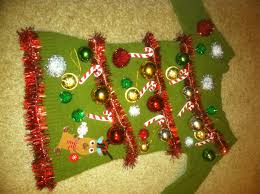 diy ugly christmas sweaters that prove youre awesome sweater ideas