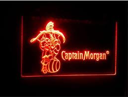 captain morgan neon bar light 2018 b68 captain morgan spiced rum bar nr led neon light sign home