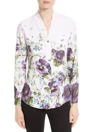 print blouses ted baker ted baker elizay floral print blouse casual