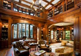 library and pool table room