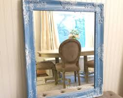 Shabby Chic Large Mirror by Large White Mirror For Sale 44x32 Vintage Inspired