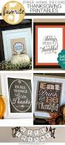 home decor thanksgiving printables