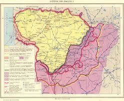 Map Of Lithuania Impressum