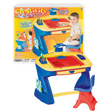fisher price step 2 art desk american plastic toys art desk easel