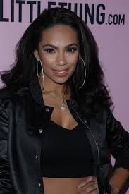 erica mena hair erica mena at pretty little thing shape x stassie launch party in
