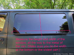 Van Window Curtains Screens To Keep Bugs Out Of Your Van Car Jeep Etc