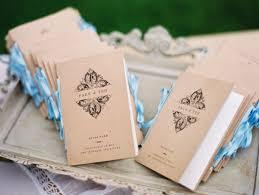wedding programs with ribbon wedding trends wedding programs