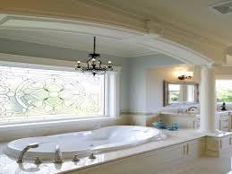 floor tile countertops bathroom tub window treatment ideas