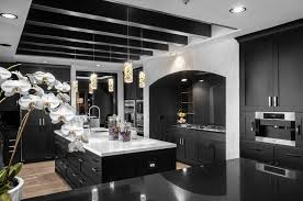 white kitchen cabinets and black quartz countertops 20 white quartz countertops inspire your kitchen renovation