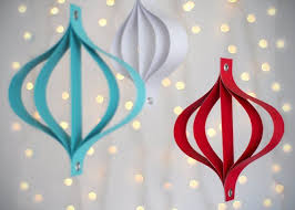 how to make modern paper ornaments paper ornaments ornaments
