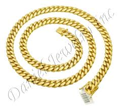 yellow gold cuban link bracelet images 10mm miami cuban link 14k chain jpg