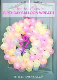 simple balloon decoration for birthday birthday planner