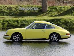 yellow porsche 911 current inventory tom hartley