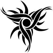 tribal star tattoo design tattoo i love pinterest star