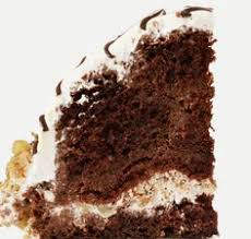 a yummy mocha cake recipe served with a delicious dark chocolate