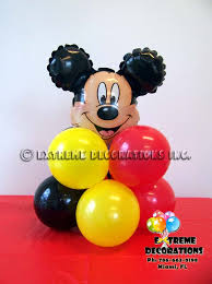mickey mouse balloon decoration party favors ideas