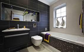 desain kamar mandi warna hitam putih model kamar mandi minimalis bernuansa hitam putih desain rumah