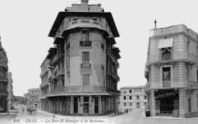Oran Des Annees 50 B Oran Des Annees 50 B Oran Rue El Moungar Et Rue De Bordeaux 1910