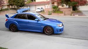 subaru wrx sti 2011 2011 subaru wrx sti on 3 wheels youtube