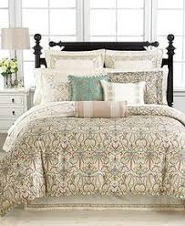 closeup of our beautiful croscill couture selena bedding