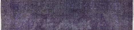 2 X 9 Runner Rug Purple Overdyed 2 X 9 Runner Rug P2215
