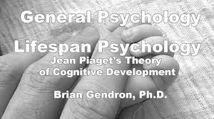 lifespan psychology piaget u0027s theory of cognitive development