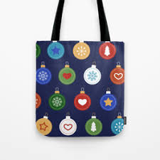 ornaments tote bags society6