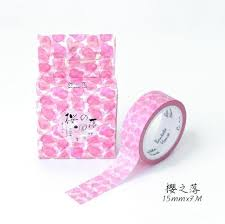 washi tape designs beautiful cherry blossom washi tape 14 designs notebooktherapy