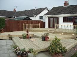 garden decking ideas designers glasgow lannarkshire cumbernauld
