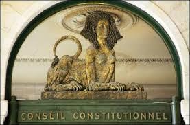 si e du conseil constitutionnel procédure de nomination des membres du conseil constitutionnel