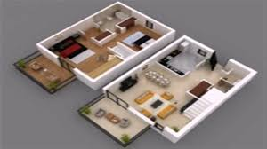 2 bedroom floor plan with dimensions youtube