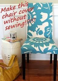 Dining Room Chair Cover Pattern Diy How To Make A Chair Cover Slip Cover Tutori Sewing