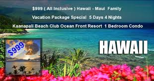 hawaii vacation packages tours hotels