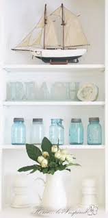 summertime in the cottage home be inspired middle shelf holds my