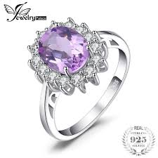natural amethyst rings images Jewelrypalace 2 3ct oval natural amethyst ring 925 sterling silver jpg